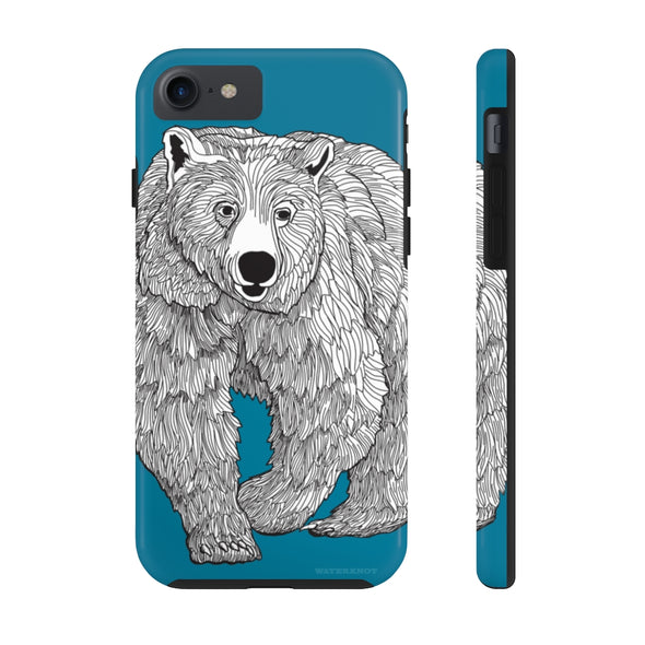 Grizzly iPhone Case - Tough