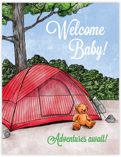 Welcome Baby Tent