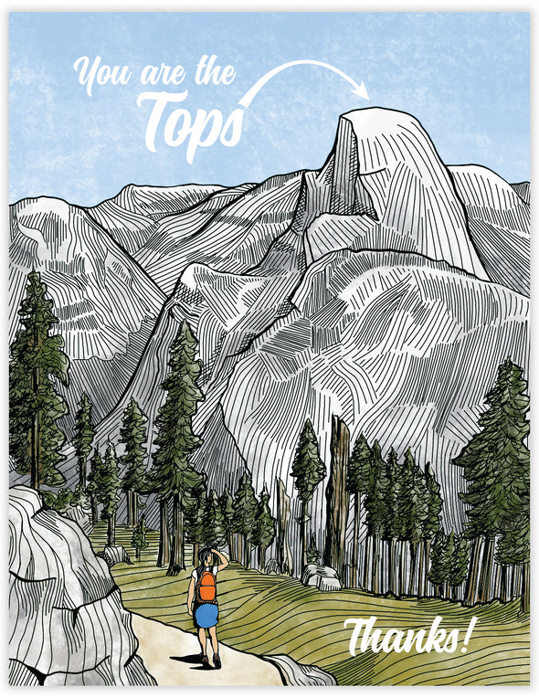 You are the Tops Un-Boxed Set of 8 Notecards