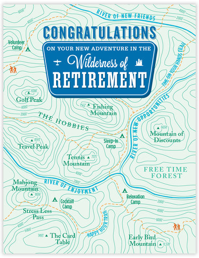 Retirement topo Map