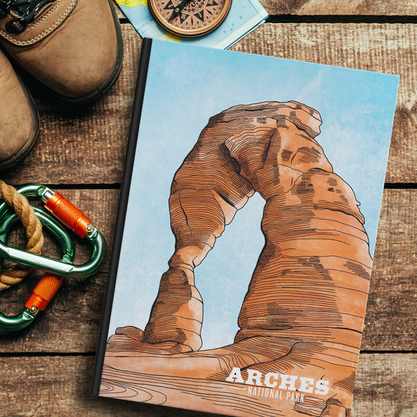 Arches National Park Hardback Journal