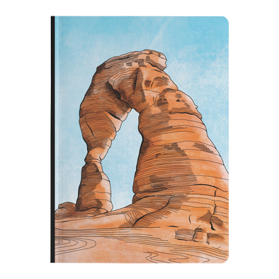 Delicate Arch Softcover Journal