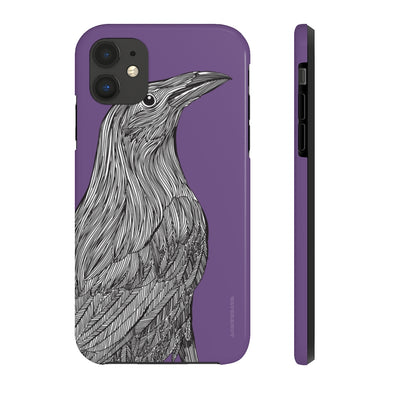 Raven iPhone Case - Tough