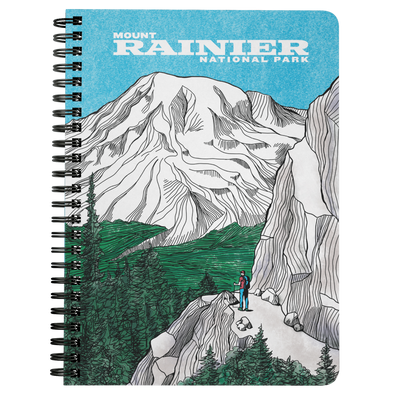 Mount Rainier Wire Bound Journal