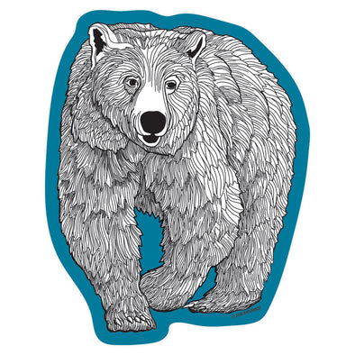 Grizzly Sticker