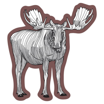 Moose Sticker