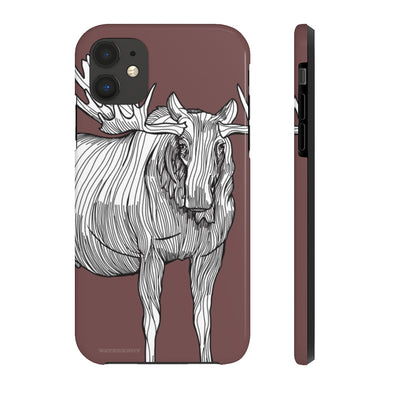Moose iPhone Case - Tough