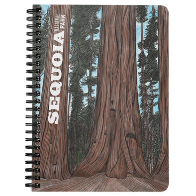 Sequoia National Park Wire Bound Journal