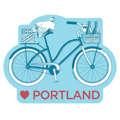 Love Portland Sticker