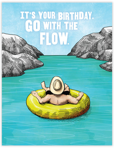 Go with the Flow Birthday