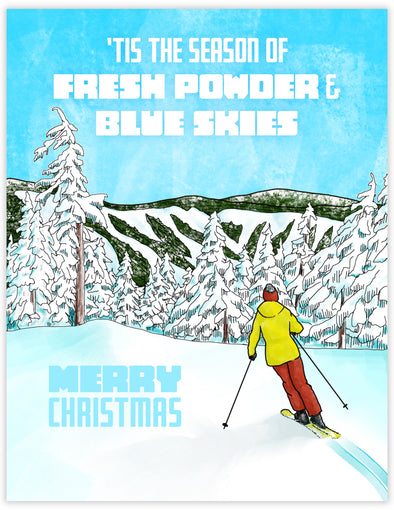 Alpine Ski Christmas