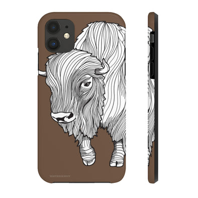 Bison iPhone Case - Tough