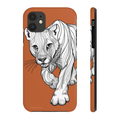 Cougar iPhone Case - Tough