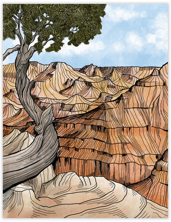 Grand Canyon Everyday Note Card