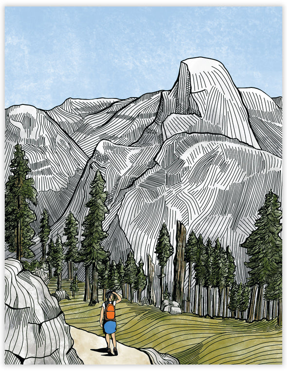 Yosemite Everyday Note Card