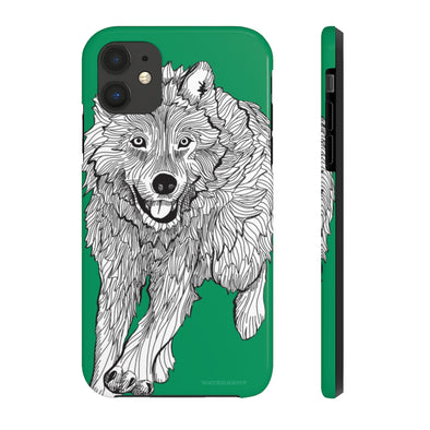 Wolf iPhone Case - Tough