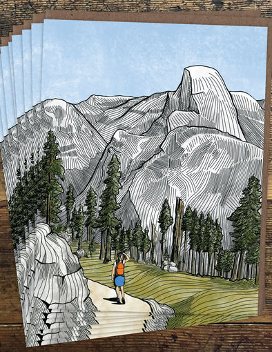 Yosemite Un-Boxed Set of 8 Notecards