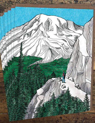 Mount Rainier Un-Boxed Set of 8 Notecards