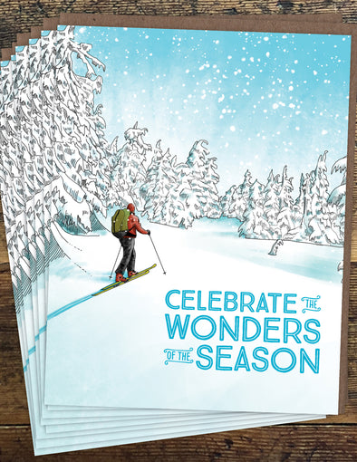 Wonders of the Season Un-Boxed Set of 8 Notecards