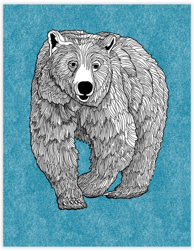 Grizzly Everyday Note Card