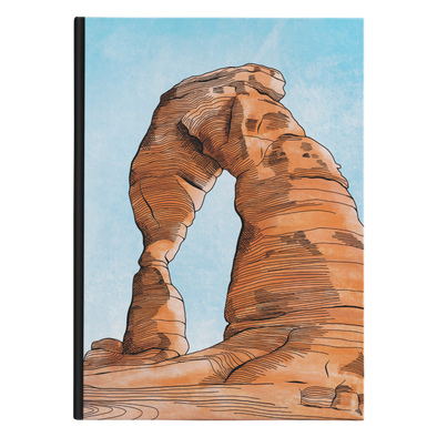 Delicate Arch Hardback Journal