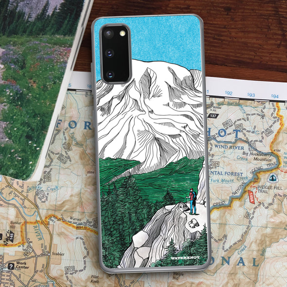 Mount Rainier Samsung Galaxy Case - Slim