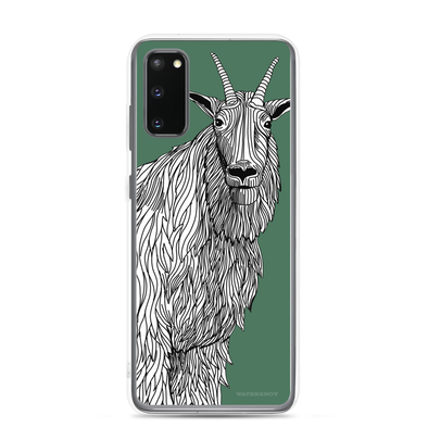 Mountain Goat Samsung Galaxy Case - Slim
