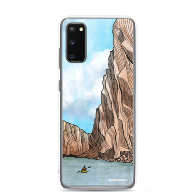 Desert Canyon Kayaker Samsung Galaxy Case - Slim