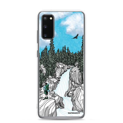 Rocky Mountain Waterfall Samsung Galaxy Case - Slim