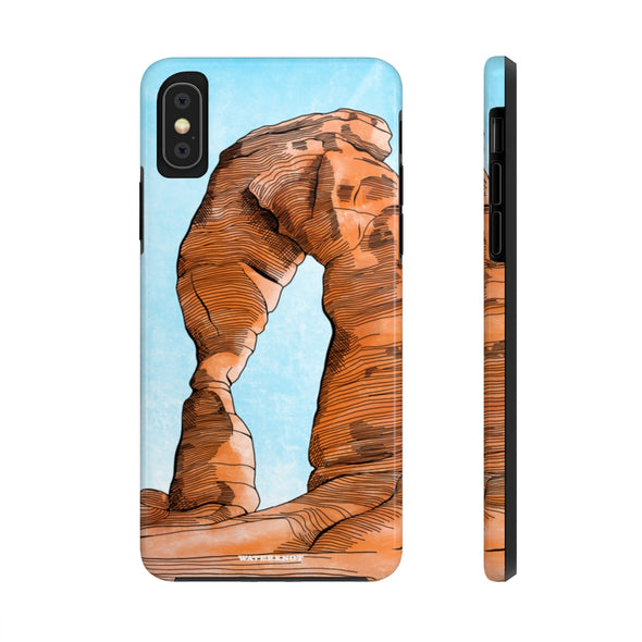 Arches National Park iPhone Case - Tough