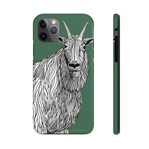 Mountain Goat iPhone Case - Tough