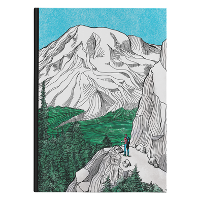 Rainier Hiker Hardback Journal