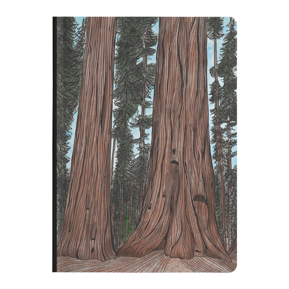 Big Trees Softcover Journal