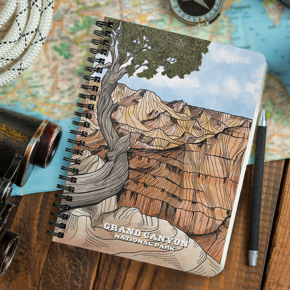 Grand Canyon Wire Bound Journal