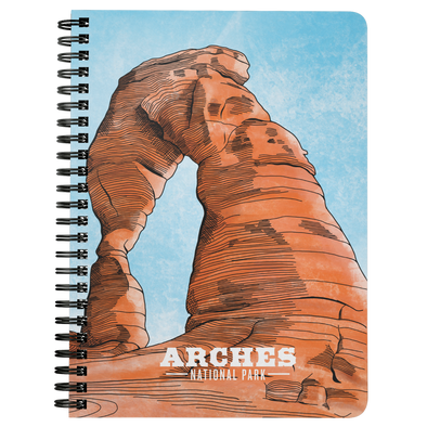 Arches National Park Wire Bound Journal