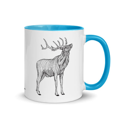 Elk Color Accent Coffee Mug