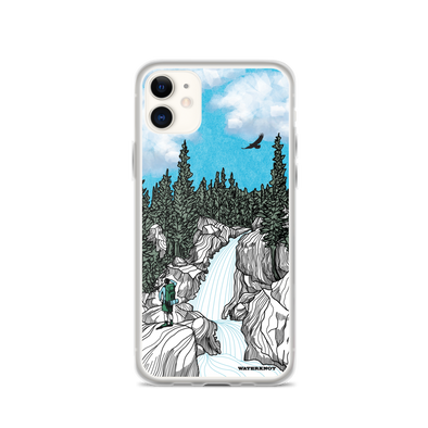 Rocky Mountain Waterfall iPhone Case - Slim