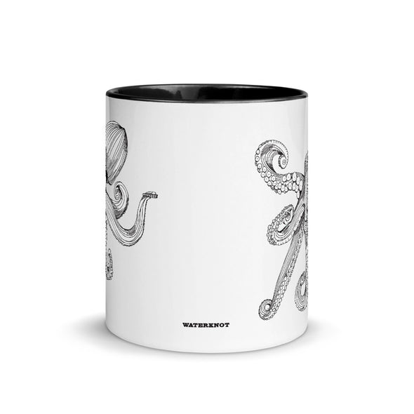 Octopus Color Accent Coffee Mug