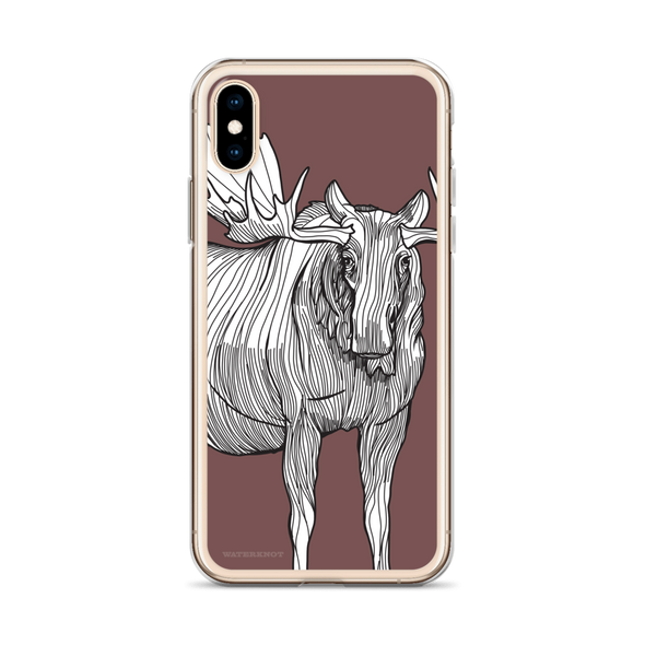 Moose iPhone Case - Slim