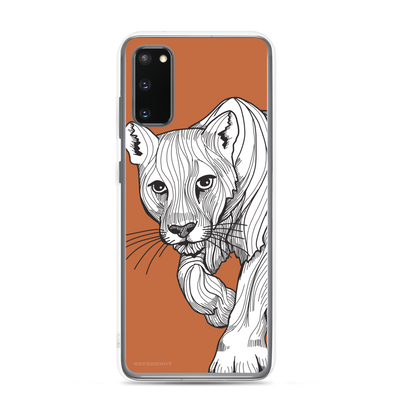 Cougar Samsung Galaxy Case - Slim