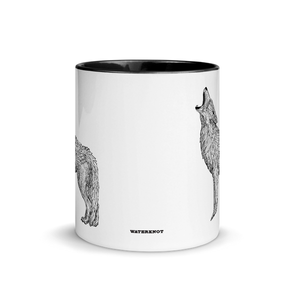 Coyote Color Accent Coffee Mug