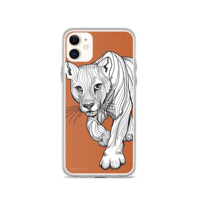 Cougar iPhone Case - Slim