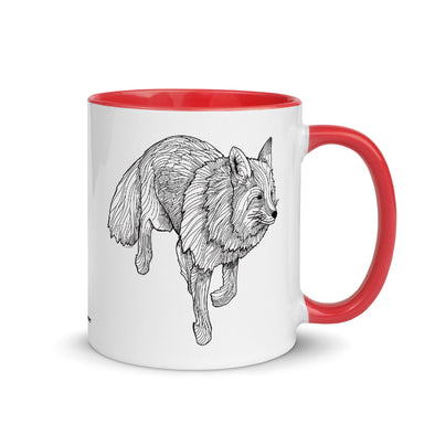 Fox Color Accent Coffee Mug
