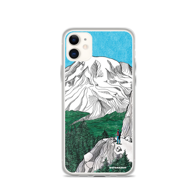 Mount Rainier iPhone Case - Slim