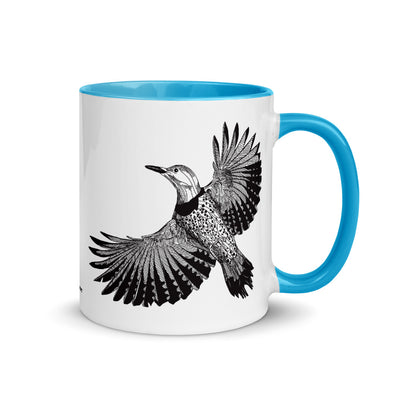 Flicker Color Accent Coffee Mug
