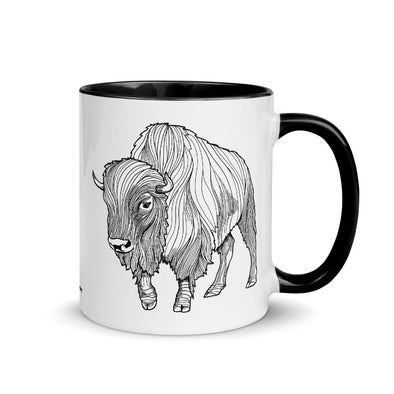 Bison Color Accent Coffee Mug