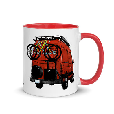 Van Life Color Accent Coffee Mug