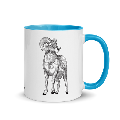 Big Horn Color Accent Coffee Mug