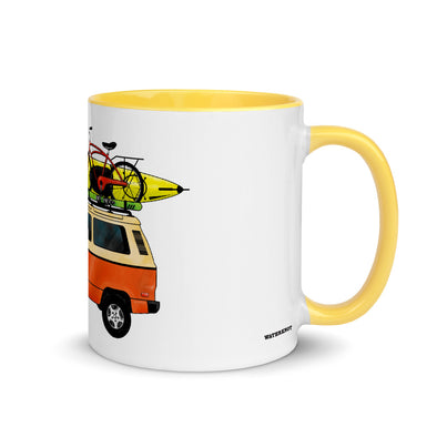 Camper Van Color Accent Coffee Mug