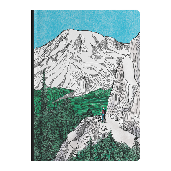 Rainier Hiker Softcover Journal